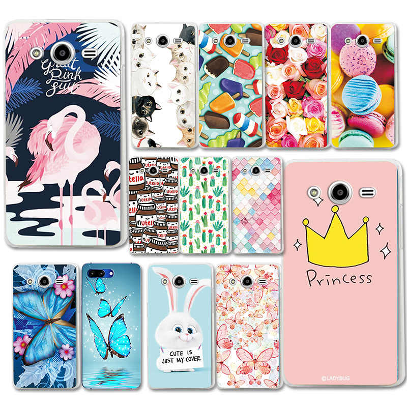 Various Painted Case For Samsung Galaxy Core 2 Duos G355H Flower Capa Phone Shell For Samsung Core2 SM-G355 G3559 Cover Fundas