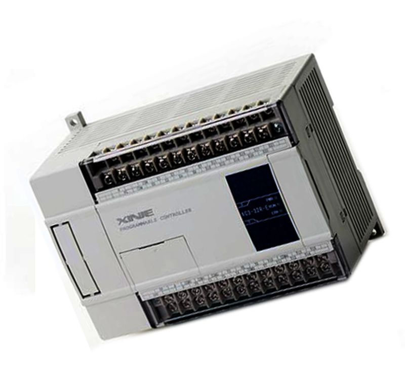 New Original 14point NPN input 10point transistor output XC2-24T-E 12 PLC AC220V with cable software new original 14 npn input 10 transistor output xd3 24t e plc