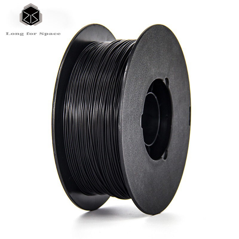 Black font b 3D b font Printer Filament PLA 1 75mm 3mm Plastic Rubber Consumables Material