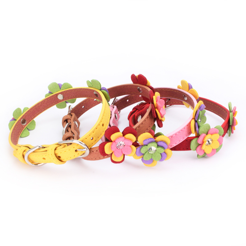 Traumdeutung Small Cats Collars Kitten Necklace Puppy Products For Pets Collar Dogs Cat Accessories Chihuahua collier chat kedi