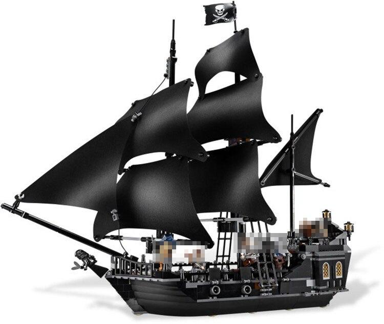 lepin 16006 Pirates of the Caribbean The Black Pearl Model set Building Blocks Kits Funny Bricks Educational Toys For Boys Gifts