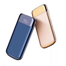 new 30000mah Power Bank External Battery PoverBank 2 USB LCD Powerbank Portable Mobile phone Charger for Xiaomi MI iphone X