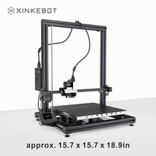 XINKEBOT Orca2 Cygnus Large Professional 3D Printer with Choice 3D Printing Material PLA