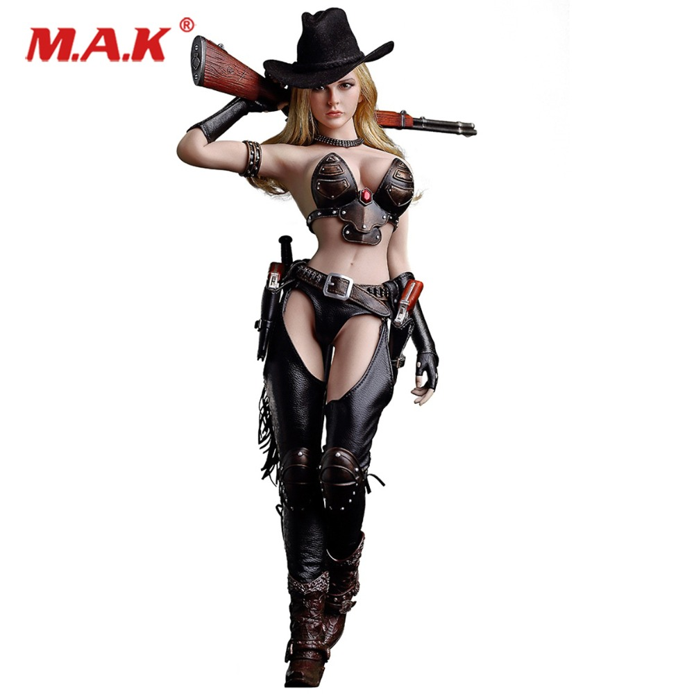 1/6 TBLeague PL2018-103 West Cowgirl with seamless body whole set Collectible Action Figure Doll new 2015 cowgirl