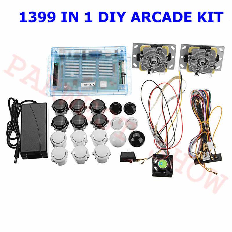 DIY Arcade Kit with Pandora 6S 1399 in 1 Mutli Game PCB ... on