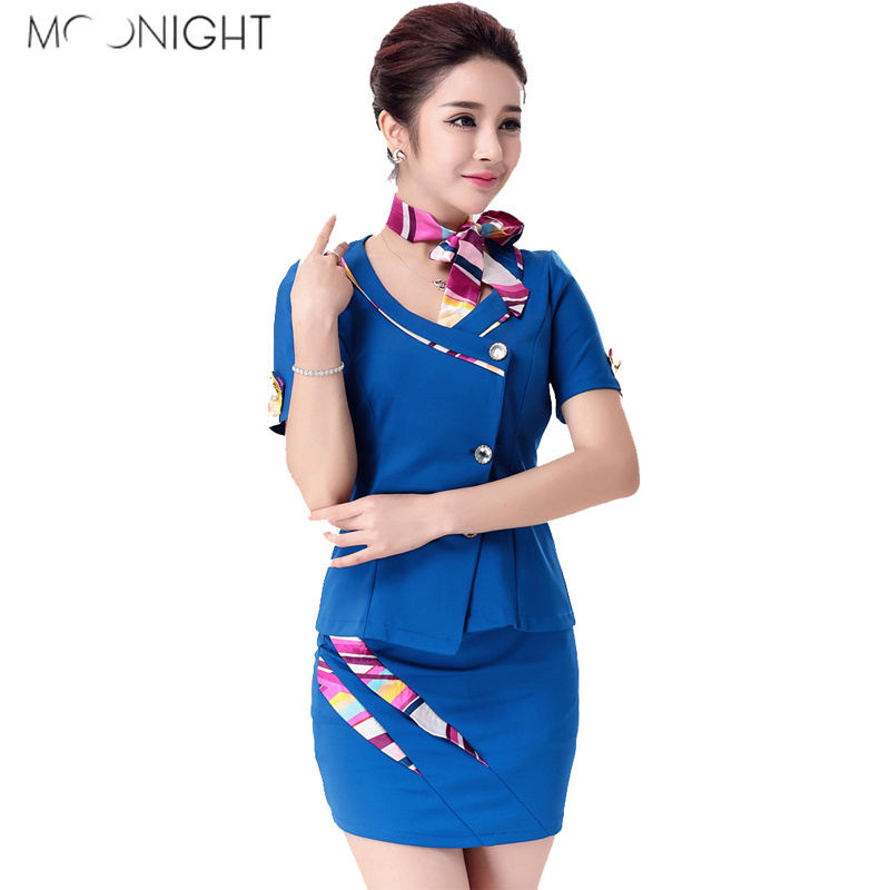 MOONIGHT Airline Stewardess Uniform Porn Women Sexy Stewardess Uniform Hot Cosplay Erotic Costumes Role Play Air Hostess Set