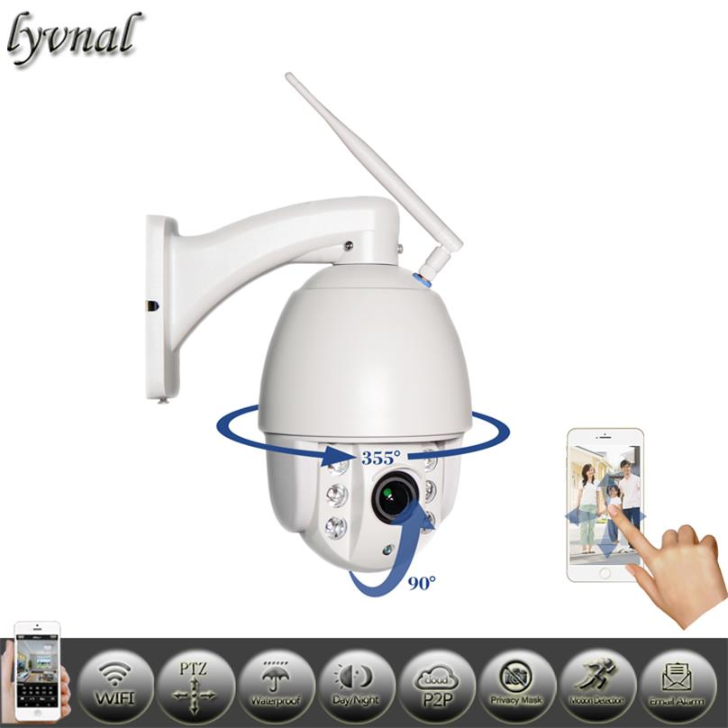 PTZ Wireless IP Camera - Chinavasion