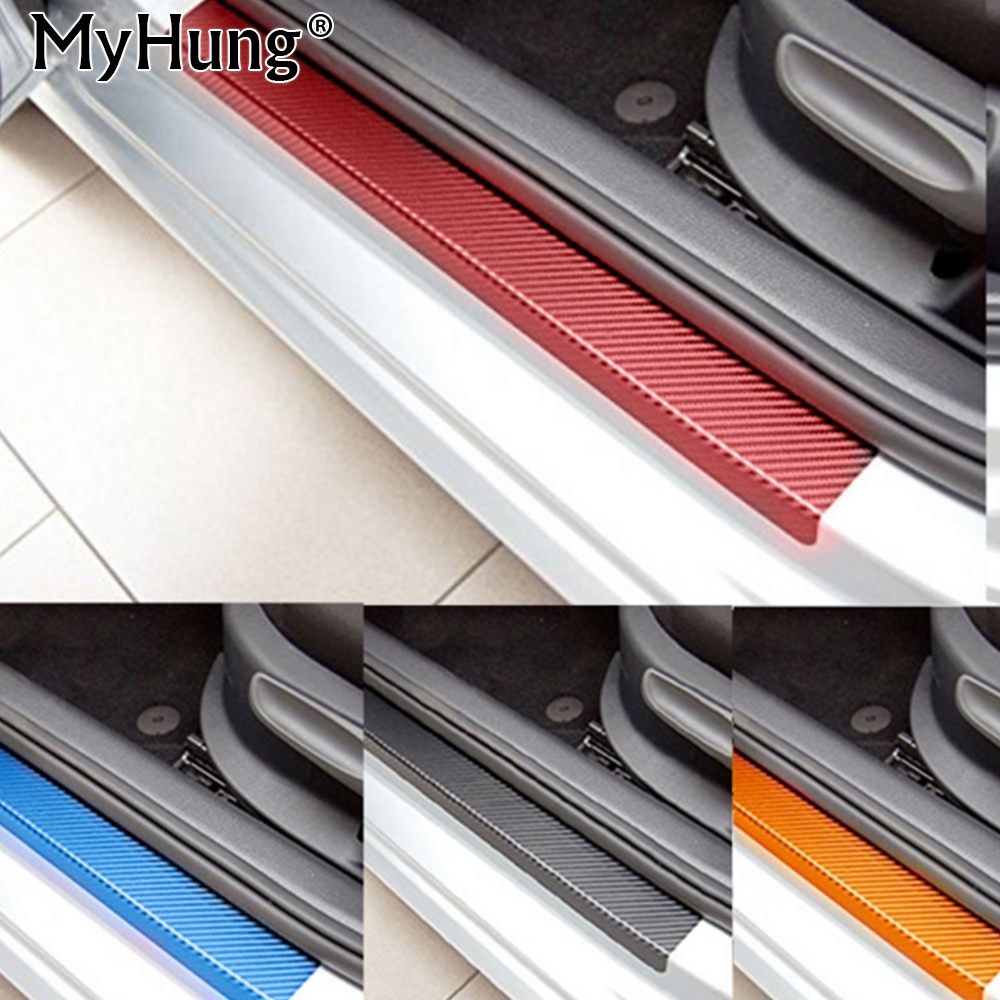 for mitsubishi asx lancer rvr 2011 2012 2013 2014 2015 car door sill scuff carbon fiber. Black Bedroom Furniture Sets. Home Design Ideas