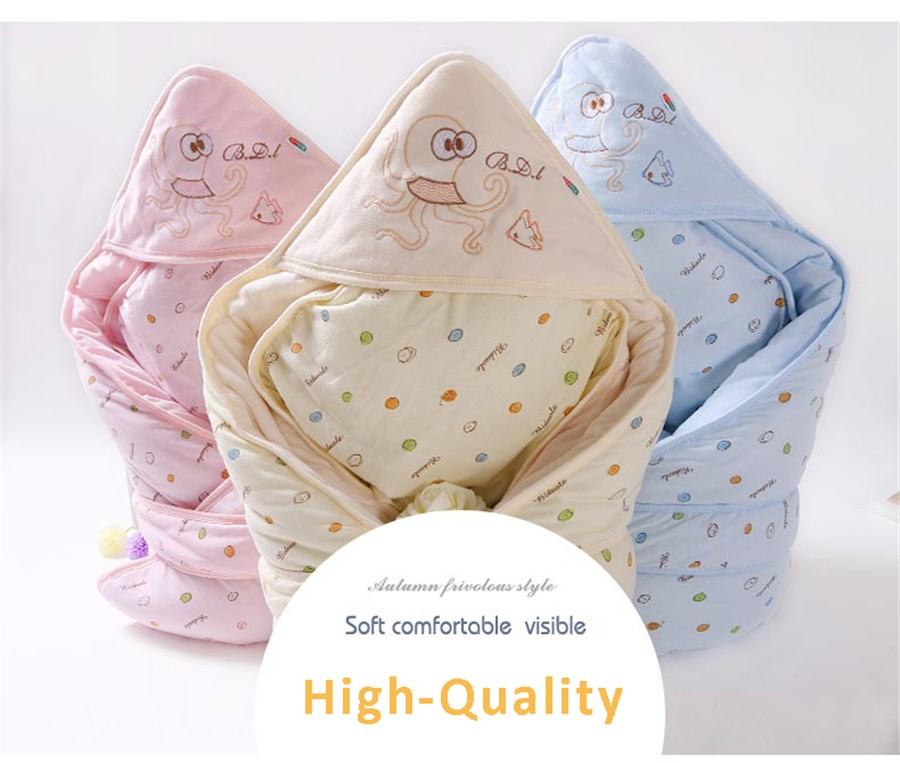 Baby Wrapped Blanket Warm Care (5)