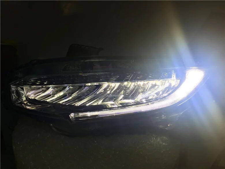 Free shipping vland factory for Honda for Civic Headlights 2015-2016 New Civics LED Headlamp Original Accessory front light
