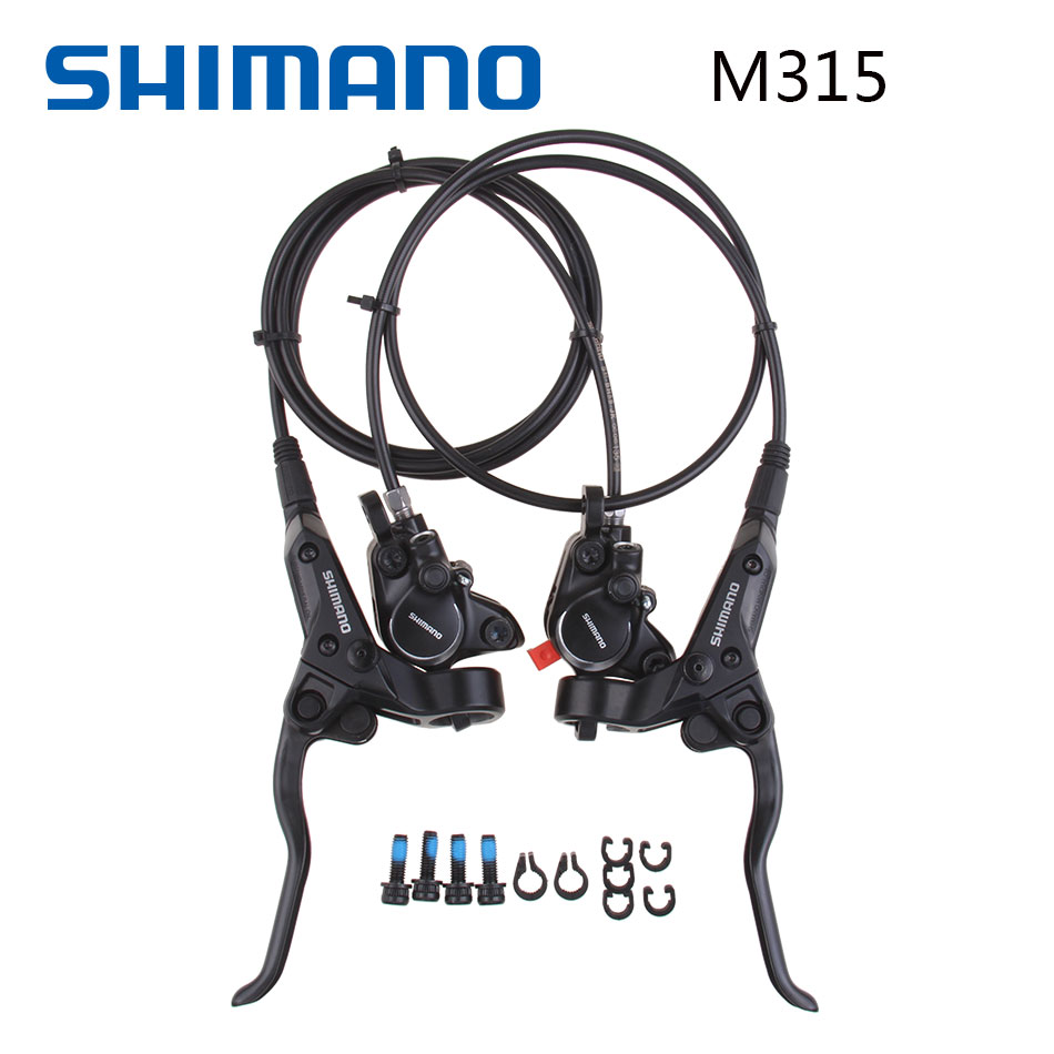Shimano BR-BL M315 BR-BL MT200 Brake Bicycle Bike Mtb Hydraulic Disc Brake Set Clamp Mountain Bike Brake shimano 2016 new br bl m315 hydraulic disc brake mtb mountain bike calipers left