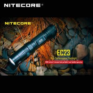 Image 5 - 1800 Lumens Nitecore EC23 Cree XHP35 Hd E2 Led Hoge Prestaties Zaklamp Met Batterij (IMR18650 2500Mah 35A)