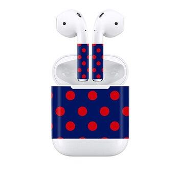 Etiqueta de piel personalizada para Apple Airpods, pegatina de vinilo # TN-APODS-0190, Envío Gratis