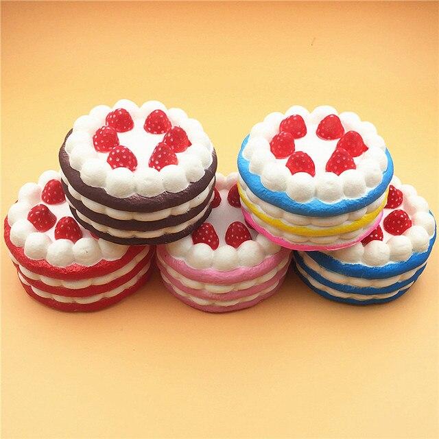 Squishy Birthday Cake Slow Rising Scented Kawaii Squishies Jumbo