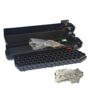 Image 3 - 전자 자전거 48 v 배터리 박스 + 니켈 시트 보관 상자 리튬 다운 튜브 전기 자전거 배터리 48 v 케이스 무료 18650 홀더