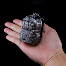 Game New Playerunknown's Battlegrounds knapsack Model PUBG Logo Keychain Pendant Cosplay accessories collection gift toys