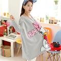 Terry Jacket Women Maternity Sweatshirt Spring Loose Plus Size Top Outerwear Fat Women Clothes Mother Kangaroo Maternidade