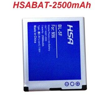 BL-5F 2500 mAh Batterie für Nokia 6290 E65 N93i 6210 N96 6210 S 6710N N95