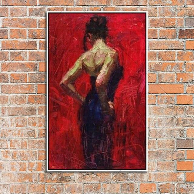 Haute Qualit Main Chaude Corps De Sexe Lady Peinture À Lu0027huile Pour Mur Art