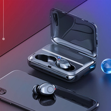 Bluetooth Earphones 5.0 TWS Wireless Headphone Headset Stereo Earbuds With MIC Rechargeable mobile phone