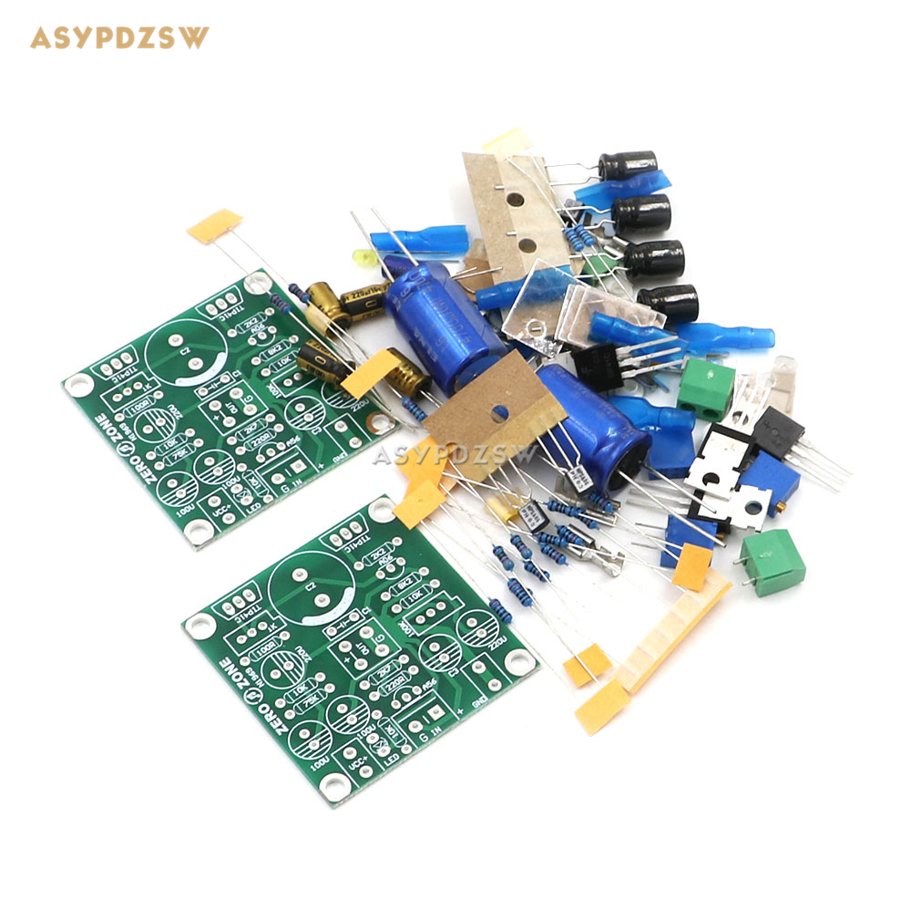 Classic Version Tip41c Jlh1969 Single Ended Class A Power Amplifier D Circuit Btl Pcb Tda8920 High Efficiency 1 2 3