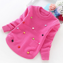 Große mädchen pullover winter mädchen pullover 2 4 6 8 10 jahre kleinkind stricken pullover top koreanische stil strickjacken warme kinder