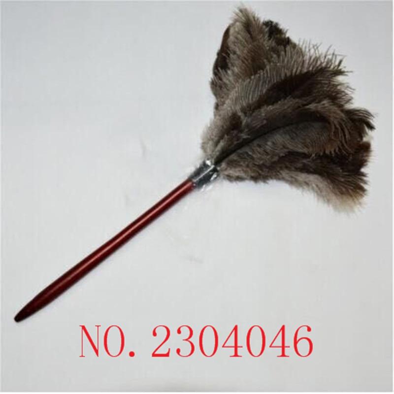 ᗔ1 unids importación avestruz plumero eliminación de polvo pequeño ...