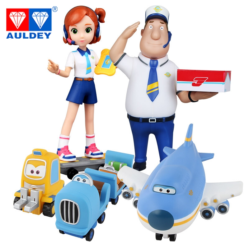 5pcs/set Big 15cm Super Wings High Quality Original JIMBO SKY ROY WING PEA SHOOTER Deformation Action Figures Toys Children 15 cm jimbo super wings mini airplane abs robot toys action figures super wing transformation jet animation children kids gift