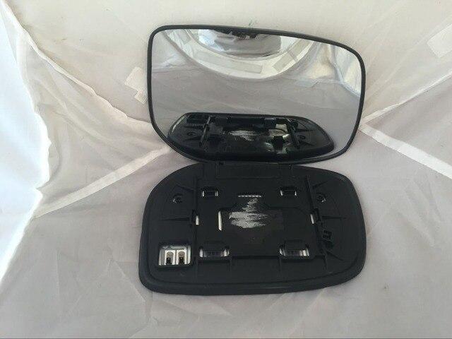 Vidro espelho retrovisor do lado direito para Toyota Camry 06-11 aquecida com placa traseira RH