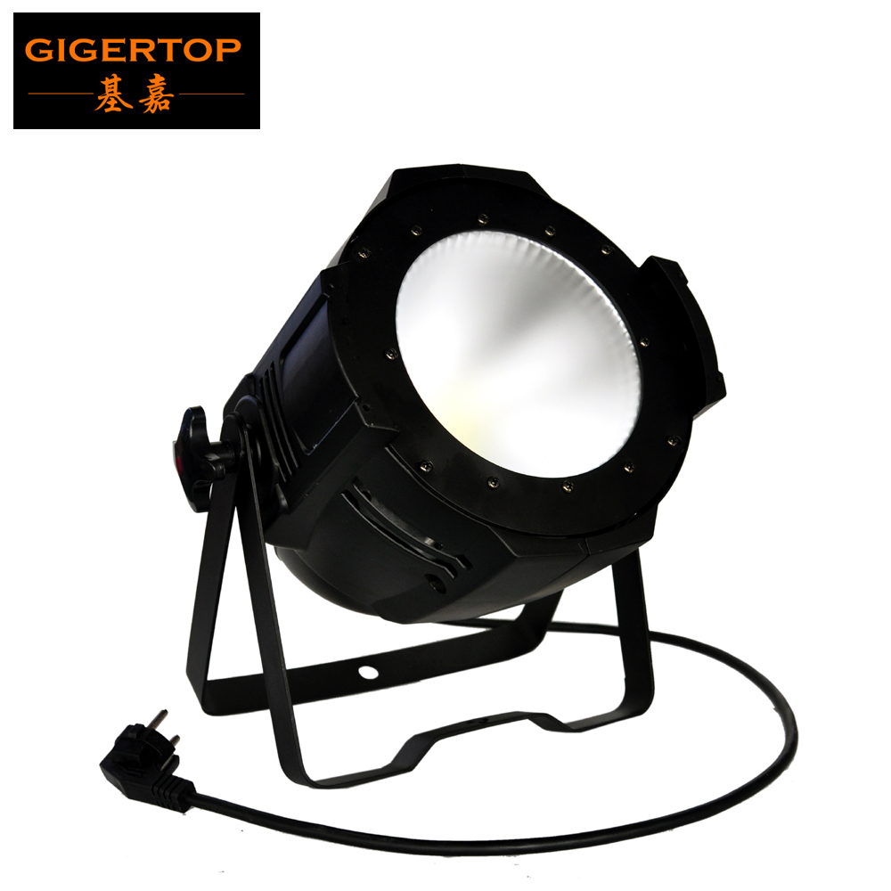 Freeshipping Frost Lens 100W Led COB Aluminum Par Cans Professional Stage Truss Projector Cold WhiteWarm WhiteRGBW TP-P55A