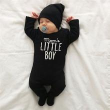 Одежда для новорожденных Детский комбинезон для маленьких мальчиков и девочек с длинным рукавом детская одежда для новорожденных