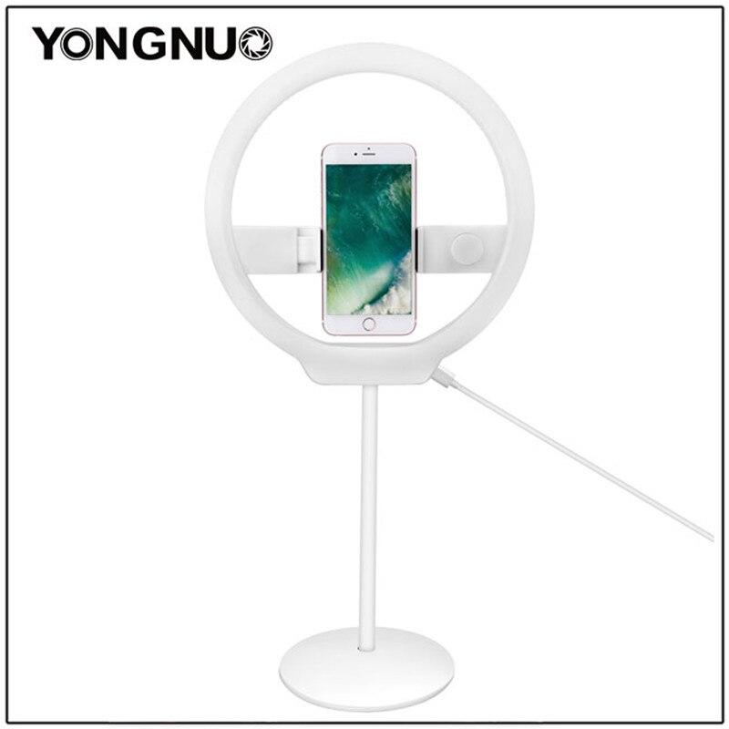 YONGNUO yn128 Камера фото/Studio/телефон/видео 128 кольцо света 3200 К-5500 К фотографии затемнения кольцо лампы для Iphone и т. д.
