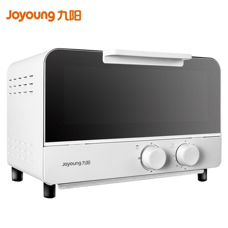 Joyoung Mini four électrique 220 V 12L petit Volume boulanger ménage multifonction Pizza donuts gâteau cuisson four 60 minutes chronométrage