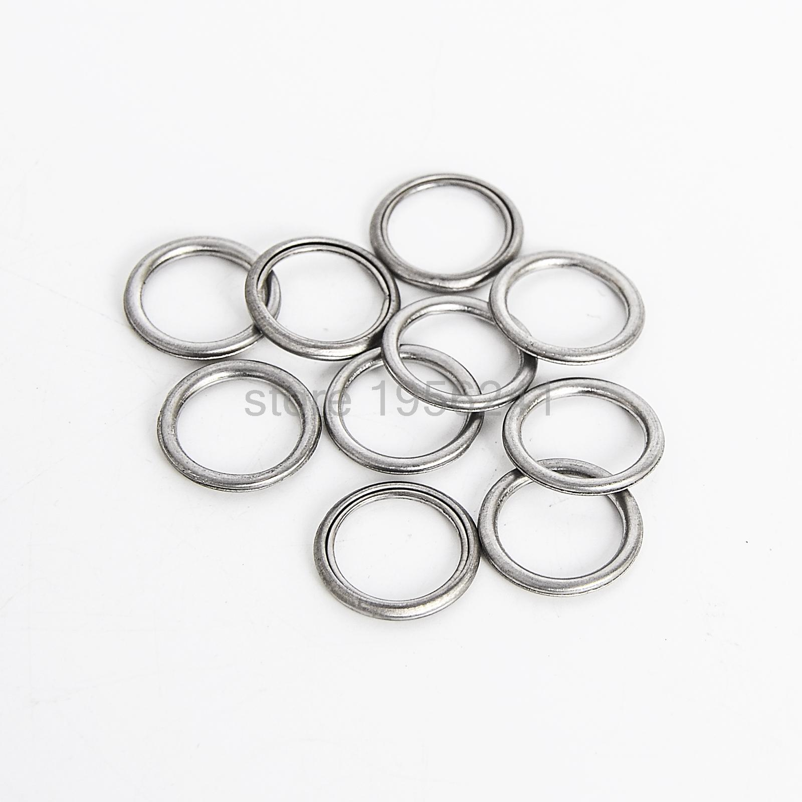 MD050317 Oil Drain Plug Gaskets New For Mitsubishi 10PCS