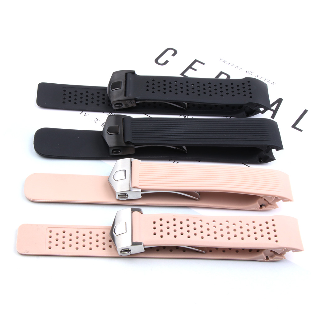 Image 5 - 20MM 22MM Sports Rubber Silicone for Samsung Gear Galaxy S3 Frontier Classic Waterproof Watch Band Strap Curved End Bracelet ManWatchbands   -