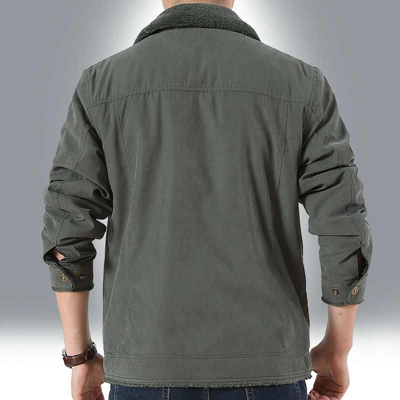 新ブランド Tace & サメコーデュロイパーカー冬のミリタリージャケット男性カジュアル厚く暖かいパッド入り高品質上着