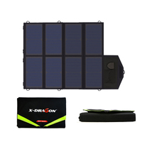Folding Power Bank 40W Solar Power Bank Solar Laptop Charger for iPhone iPad Macbook Acer Samsung HTC LG Hp ASUS Dell