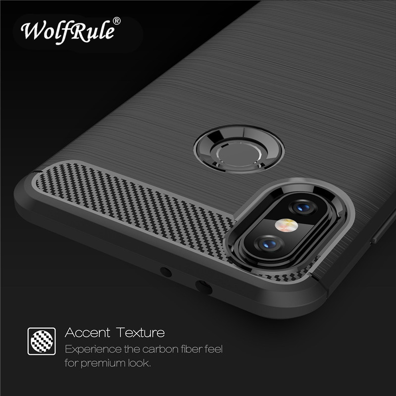 Xiaomi Redmi Mi A2 Cases Xiaomi Mi6x Cover Soft TPU Brushed Phone Back Case For Xiaomi Mi 6x Case Shells Xiaomi Mi A2 Fundas