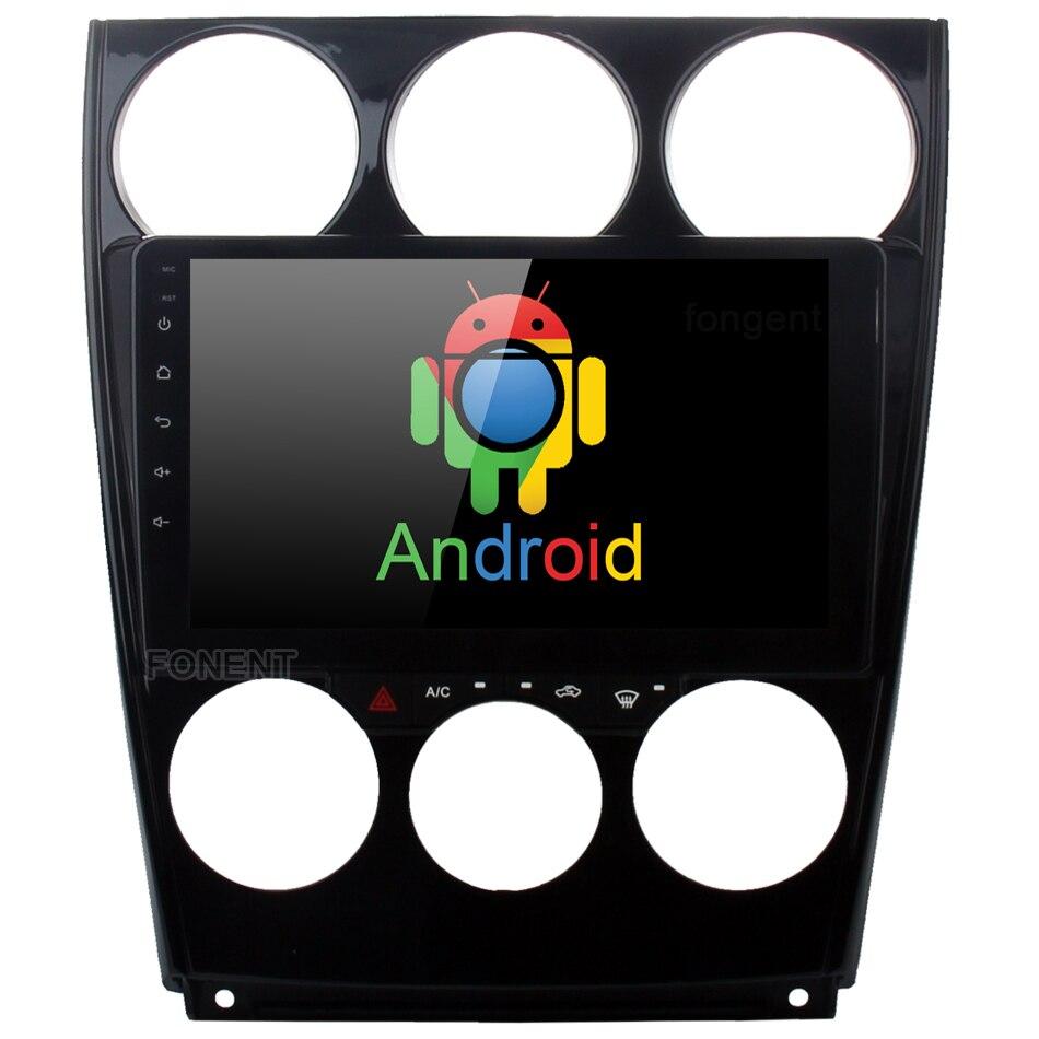 9 IPS Android 8.0 Lecteur Multimédia pour Mazda 6 2006 2007 2008 2009 2010 2011 2012 2013 Voiture GPS radio Tête Unité 4g 32g Octa-core