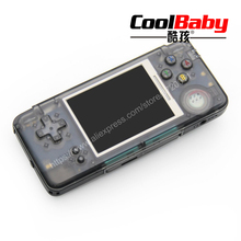 coolbaby RS-97 RETRO Handheld Game Console Portable Mini Video Gaming Players MP4 MP5 Playback Built-in3000 gamesChildhood Gifts