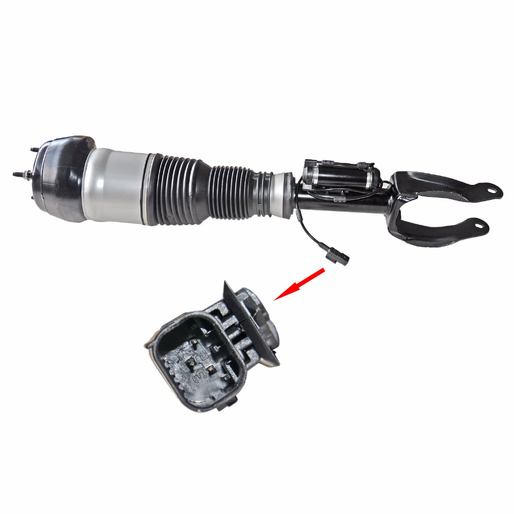 AP02 Anteriore Sinistro Air Suspension Strut Shock Per La Mercedes GL ML W/X166 1663202738