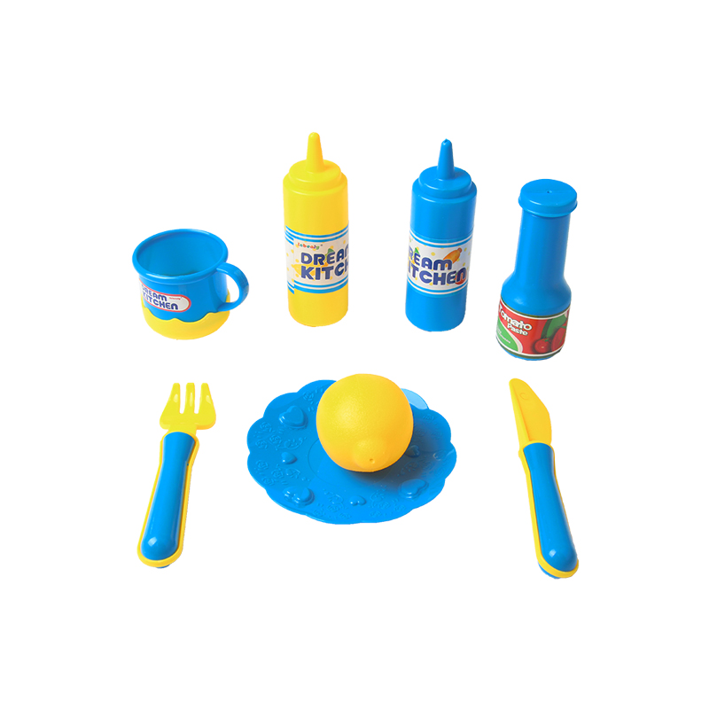 Exquisite Packaging Kitchen Set Kids Toys Simulation Cooking Food ...