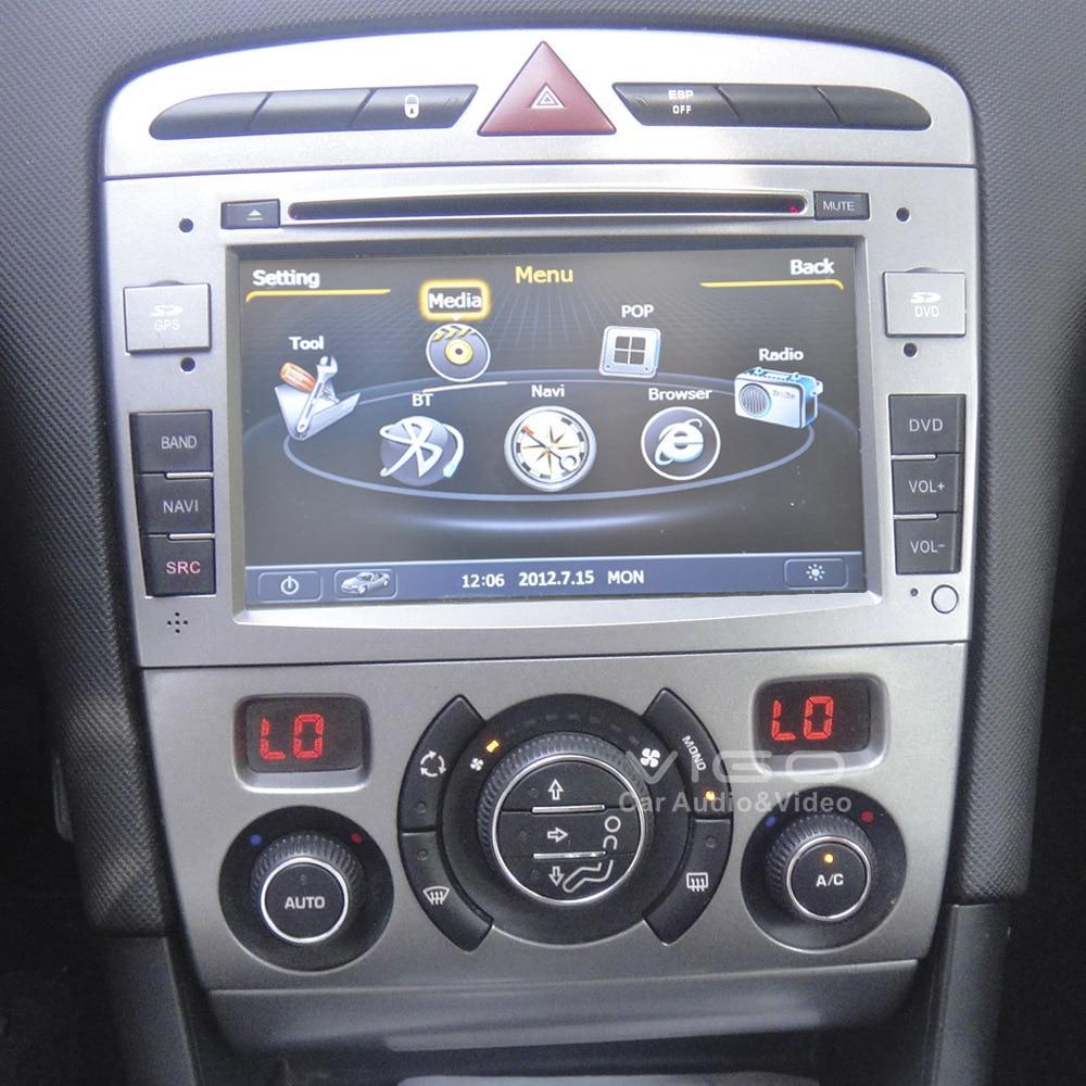 derni res s100 car stereo de navigation gps pour peugeot. Black Bedroom Furniture Sets. Home Design Ideas