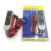 Auto tensão do gerador alternador testador verificador da bateria testador de bateria de Carro ferramentas de diagnóstico