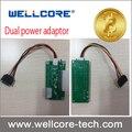 10pcs Dual PSU Power Adapter multipler Add2Psu Adapter PC multiple power adapter supply