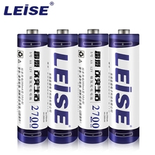 Leise 2700mah AA NI-MH Rechargeable Batteries 1.2v 2A nimh battery Free Shipping Packaged For Sale 1/2/3/4/6/8/12PCS RC Toys