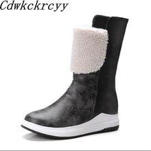 Зимние новые стильные ботинки martin в британском стиле с круглым
