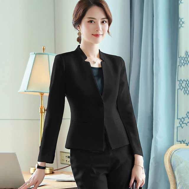 Black White Small Suit...