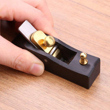 Mini Wood Planer Hand Tool Flat Bottom Wood Trimming Plane for Woodworking Wooden Planing WXV Sale 5 pcs plane violin maker tool woodworking thumb plane luthier tool 115