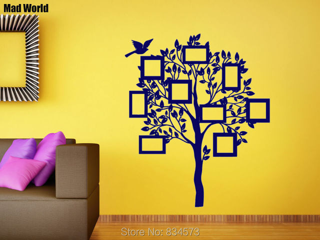 Magnificent Family Tree Wall Art Pattern - Wall Art Design ...